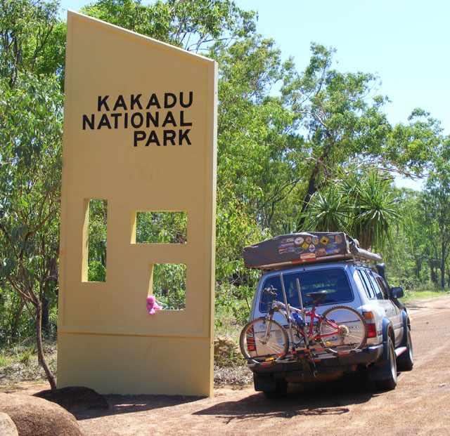 Abuse report in kakadu national park