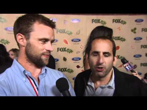 "Jesse Spencer and Peter Jacobson of ""House"" at Fox ECO Party"