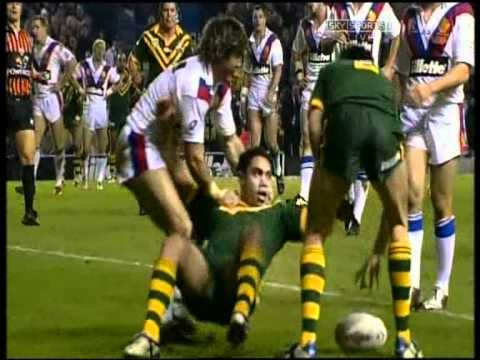 Спорт - 2004 Rugby League Tri Nations Final - Great Britain v Australia