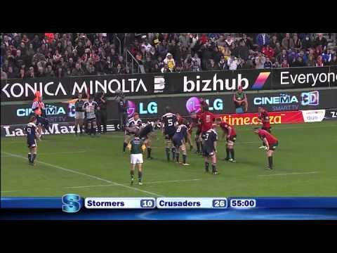 Super Rugby - 2011 Super Rugby Semi-Final - Stormers vs Crusaders - Part 4 / 5