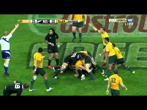 Super Rugby - 2011 Tri-Nation - Wallabies vs All Blacks Game 2 - Part 4 / 4