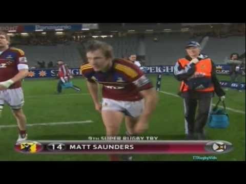 Super Rugby - Blues vs Highlanders Week 18 2011