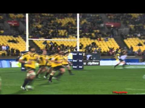 Super Rugby - Crusaders vs Hurricanes Week 18 2011