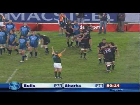 Super Rugby - Sharks vs Bulls Week 18 2011
