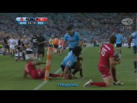Super Rugby - Tatafu Polota-Nau - Disallowed try