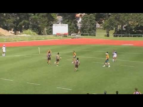 Спорт - Touch Rugby - Backdoor move