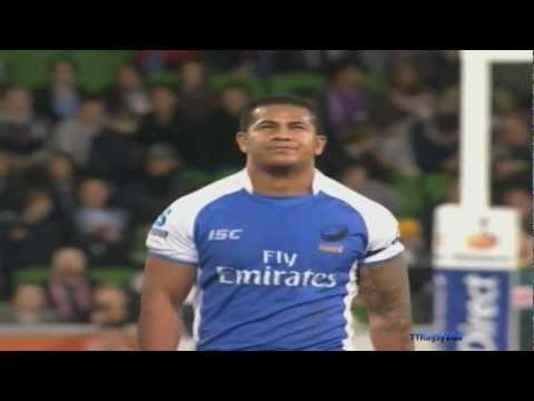 Super Rugby - Western Force vs Melbourne Rebels Week 18 2011
