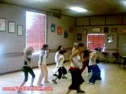 Клипы - London Bridge - Fergie - Black Eyed Peas - FUNKMODE Hip Hop Pop Dance Class - Summer 2006