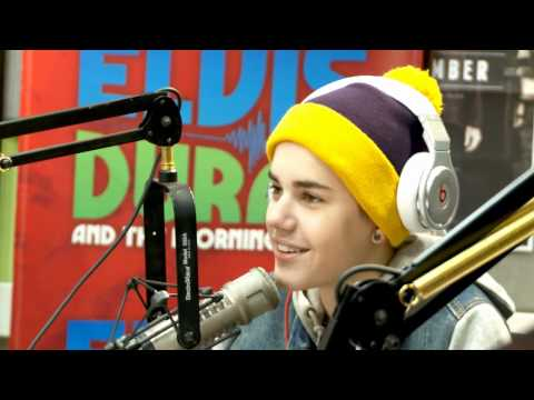 Клипы - Elvis Duran- Justin Bieber interview