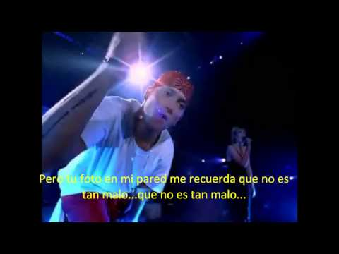 Клипы - Eminem ft. Dido - Stan Traducida y Subtitulada al Español [HD - Live in London]