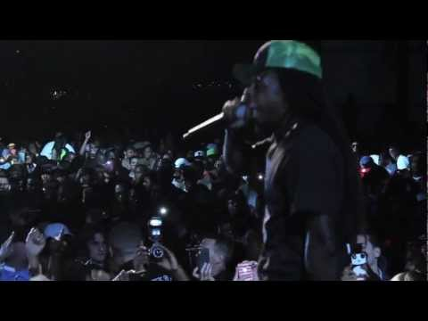 Клипы - Lil Wayne Performs HYFR At NBA All Star Weekend 2012 [HD]