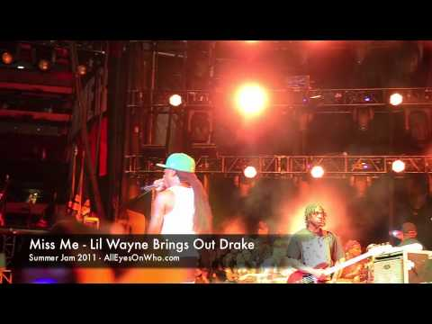 Клипы - Miss Me - Lil Wayne Brings Out Drake - Summer Jam 2011