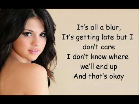 Клипы - Selena Gomez. we own the night lyrics