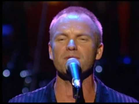 Клипы - Sting -  Every Little Thing She Does Is Magic Live