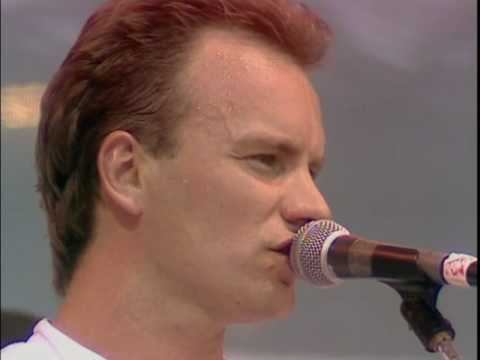 Клипы - Sting & Phil Collins - Every Breath You Take (Live Aid 1985)