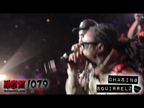 Клипы - Young Jeezy and Lil Wayne at Hot 107.9 Birthday Bash 16 - Ballin' (live)