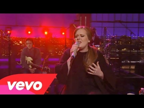 Клипы - Adele - Turning Tables (Live on Letterman)