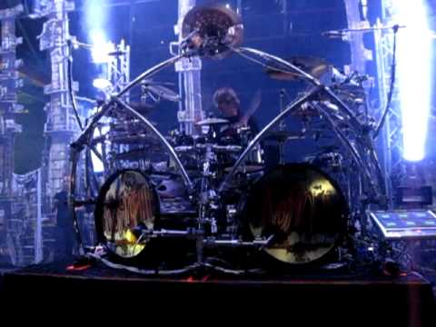 Клипы - KoRn: Ray Luzier - Soundcheck - Pop A Pill - 24.09.2010 (munich)