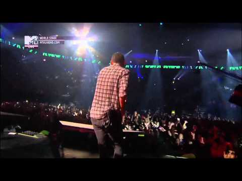 Клипы - Linkin Park - Bleed It Out (Live In Monterrey, Mexico, MTV World Stage 2012) [Full HD 1080p]