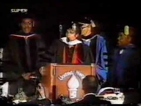 Клипы - Michael Jackson's Speech at United Negro College