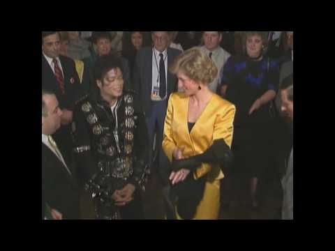 Клипы - Michael Jackson with Princess Diana and helping children (HD)