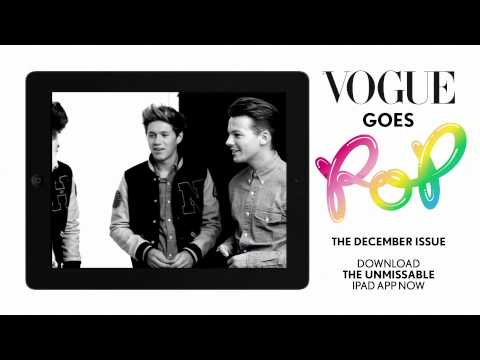 Клипы - One Direction - Vogue UK Photoshoot - Behind The Scenes