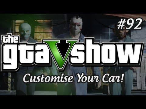 Клипы - GTA 5 Customisation! Weapons, Cars and More! - The GTA V Show (Episode 92)