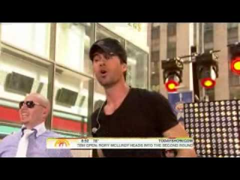 Клипы - I LIKE IT [LIVE] @ The Today Show 2010 - Enrique Iglesias feat. Pitbull