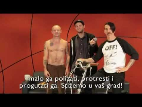 Клипы - Red Hot Chili Peppers Zagreb Hipodrom 29.08.2012. (Najava koncerta)