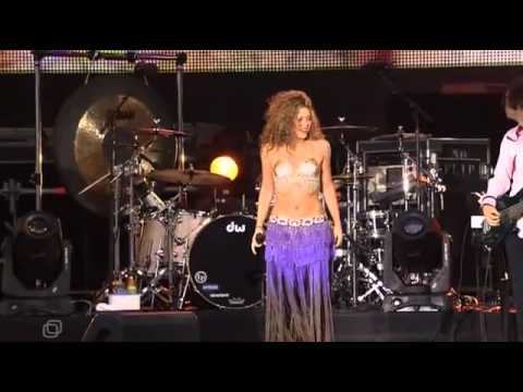 Клипы - Shakira - 05 Whenever, Wherever [Red Summer Moscow 2006]