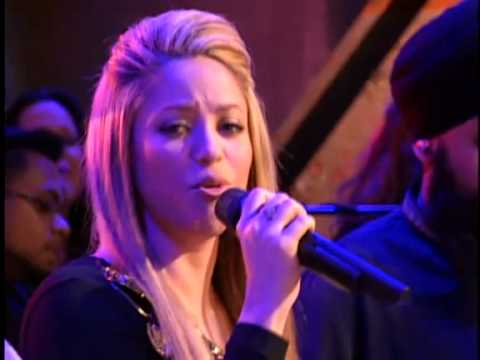 "Клипы - Shakira - Gypsy (Live on ""With Alexa Chung"") HQ"