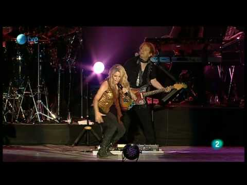 Клипы - Shakira - Loba (Rock in Rio Madrid 2010)