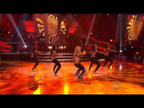 Клипы - Shakira - Loca [HD 720p] - Dancing With The Stars [10.19.10]