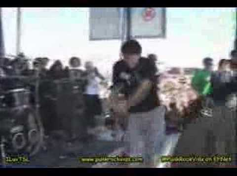 Клипы - The starting line - best of me live warped tour