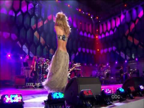 Клипы - WM 2010 Kick-Off Konzert Shakira She wolf HD