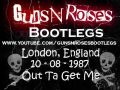 Клипы - Guns N' Roses 10-08-1987 London England , Out Ta Get Me [3/16]